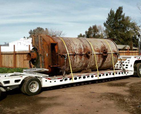 Oild drum hauling